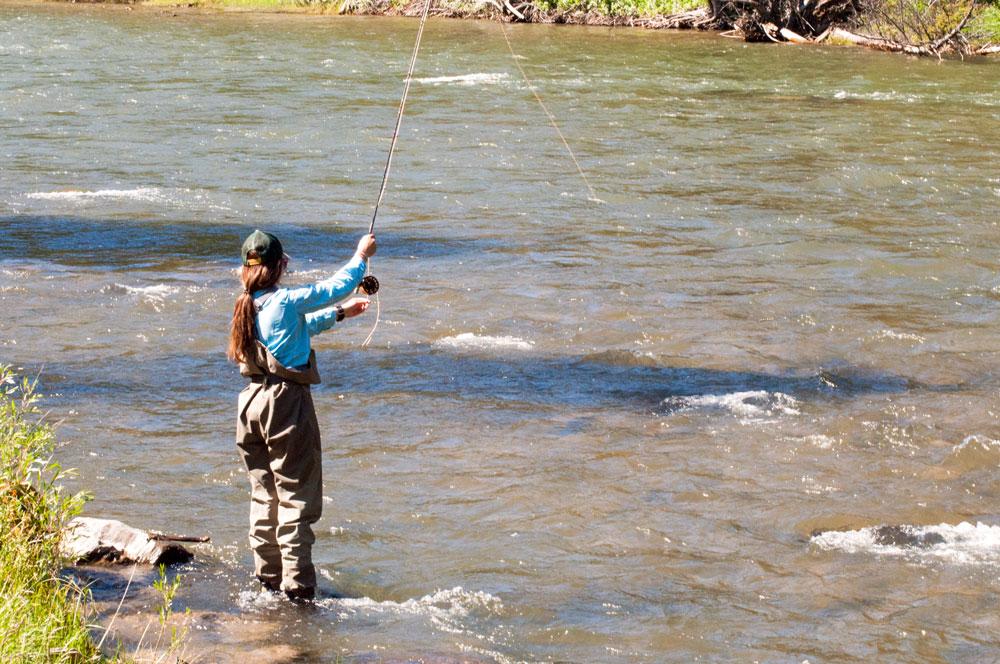 fisherwoman-river