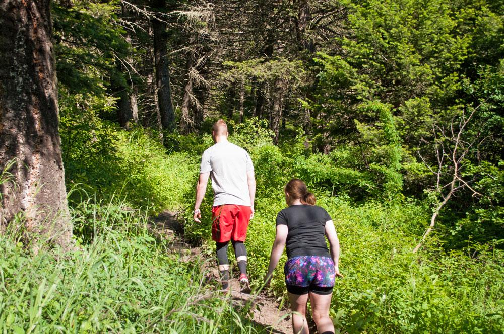hiking-on-trail